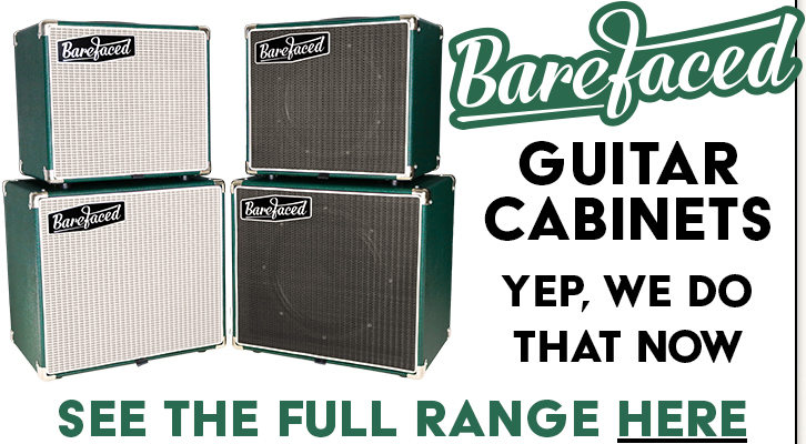 Barefaced Guitar Cabinets - At our new webstore